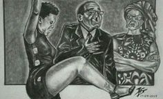 Zodwa Wabantu shades Robert Mugabe with cheeky cartoon