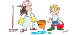 Wie viel helfen euere Kinder im Haushalt? Hier sind gesammelte Tipps von Eltern, wie das besser geht!