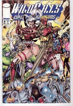 WILDC.A.T.S: Covert Action Teams #5 Nov 1992 Image Comic Book Wildcats