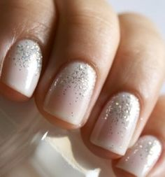 Something sparkling is always a good idea! Fairynails
