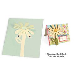 Sizzix - Bigz Die - Party Essentials Collection - Die Cutting Template - 3-D Flip Up - Flower at Scrapbook.com $17.99