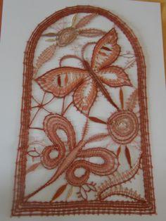 Ew Needle Lace, Bobbin Lace, Fiber Art, Elsa, Projects To Try, Butterfly, Handmade, Inspiration, Butterflies
