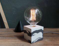 concrete lamp Q 41 handgemaakte. lamp. concrete lamp. door dtchss
