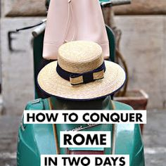 History In High Heels: Where to Eat in Rome