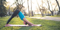 Best yoga pose for your arms: Downward Facing Dog