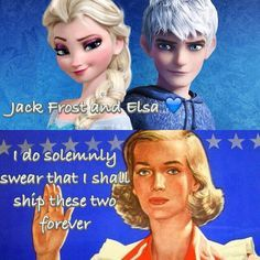 Jelsa! It just makes sense. And if I can't have Jackunzel, I expect Jack Frost to be shipped with Elsa. End of story! XD