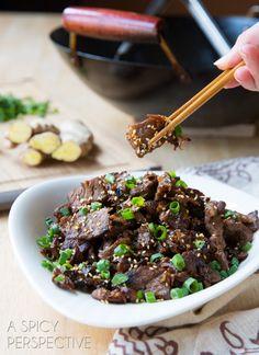 Simple Bulgogi: Korean BBQ #Beef #Asian #Recipe