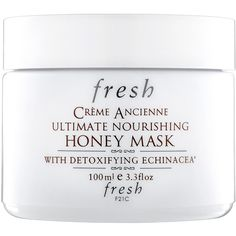 Fresh Crème Ancienne Ultimate Nourishing Honey Mask (8.145 RUB) ❤ liked on Polyvore featuring beauty products, beauty, makeup, fillers and white fillers