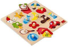 Oferta: 10.04€. Comprar Ofertas de Goula - Puzzle siluetas, 15 piezas de madera (Diset 53023) barato. ¡Mira las ofertas!
