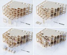 Modular tower housing in India by Penda