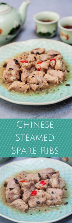 Chinese Steamed Spare Ribs - Marinate the ribs for at least 8 hours and then just steam for 30 minutes - simple!