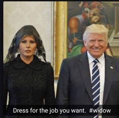 Dress for the job you want. #WIDOW