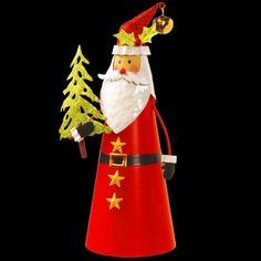 Handcrafted Santa Character Holding Evergreen Tree Christmas Decor 12 Inches #Santa #HandCrafted #Tree #CharacterSanta #Evergreen #Santa #Figure #Christmas #YardDecor #ChristmasDecor #Holiday #Seasonal #HomeDecor #12Inches