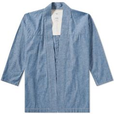 Visvim Noragi Chambray Shirt (Blue)