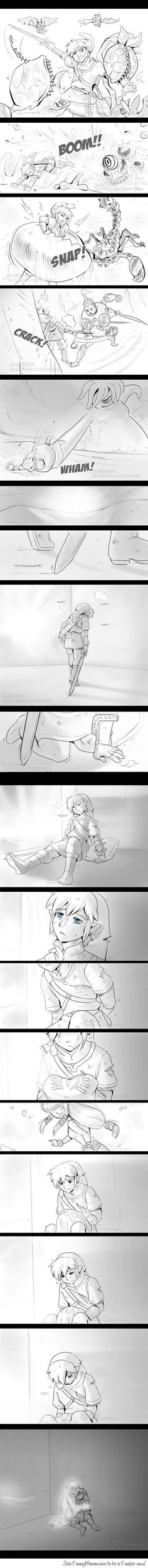 The feels.. btw this is Skyward Link