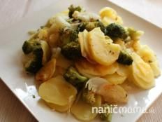 Zapekané zemiaky s brokolicou - recept Delena, Sprouts, Broccoli, Potato Salad, Potatoes, Vegetables, Ethnic Recipes, Fit, Shape