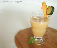Frullato: melone e cetriolo con succo alla pera