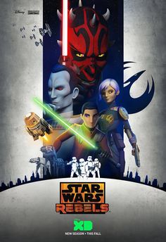 poster for Star Wars Rebels season 3