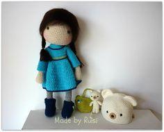 Amigurumi Crochet Doll Aliya by Rusi Dolls by RusiDolls on Etsy