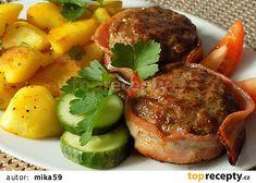 Pot Roast, Salmon Burgers, Steak, Menu, Treats, Ethnic Recipes, Carne Asada, Menu Board Design, Sweet Like Candy