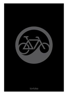 Logo Gray - lovbike Cycling Tattoo, Bicycle Tattoo, Bike Tattoos, Bicycle Art, Cycling Art, Bicycle Design, Mtb, Bicycle Illustration, Bike Logo