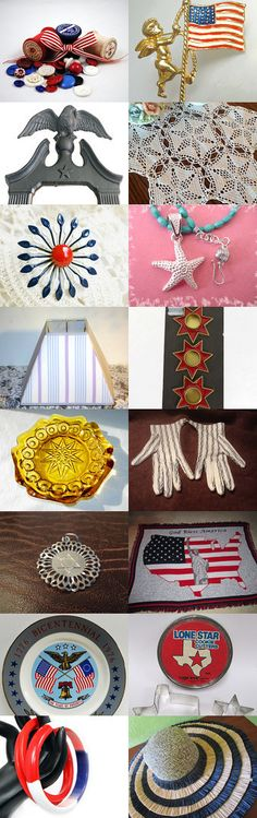 ~ STARS And STRIPES ~ by Terese on Etsy--Pinned with TreasuryPin.com