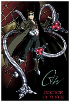 DOCTOR OCTOPUS 13X19 SPIDER-MAN VILLAIN