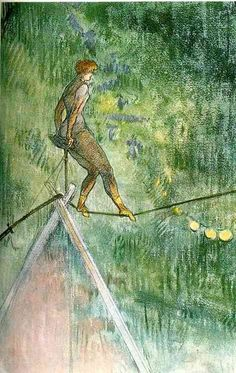 Henri de Toulouse-Lautrec - High Wire Acrobat,