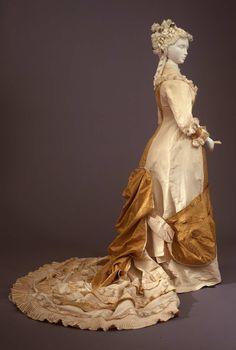 Fripperies and Fobs Dress ca. 1880 From the Galleria del Costume di Palazzo Pitti via Europeana Fashion