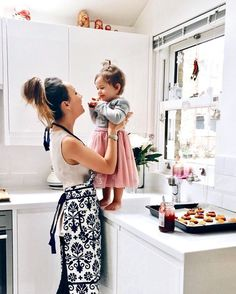 Cooking with mom!