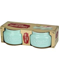 Urban Trend Light Green Mason Scoop Bowl - Set of Two | zulily