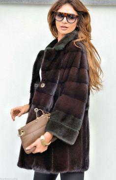 mink furs - ghielmetti royal mink fur coat 2016