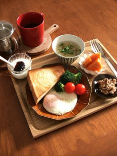 breakfast west and japan style