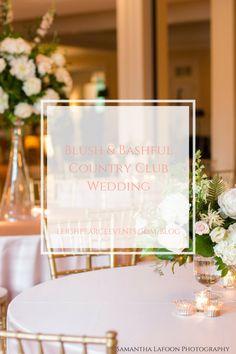 Blush And Bashful Pink Wedding Highland Presbyterian Church Forsyth Country Club
