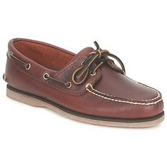 Boat shoes Timberland CLASSIC 2 EYE Rootbeer / Smooth 133.00 €