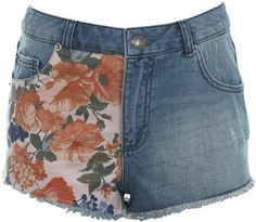 ShopStyle: Floral diy short