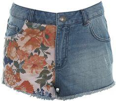 ShopStyle: Floral diy short