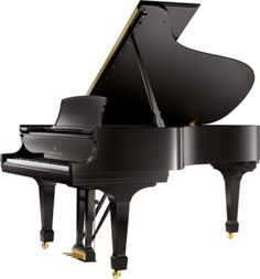 clipart grand piano in black and white royalty free vector