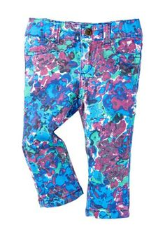 Joe's Jeans Floral Printed Jegging (Baby Girls) on @HauteLook