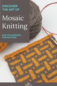 Knitting With Two Colors Is Easy And Fun With Slip * das stricken mit zwei farben ist einfach und macht spaß mit slip * tricoter avec deux couleurs est facile et amusant avec slip Slip Stitch Knitting, Knitting Stiches, Easy Knitting, Knit Stitches, Two Color Knitting Patterns, Afghan Crochet Patterns, Stitch Patterns, Knitting Humor, Knitting Projects