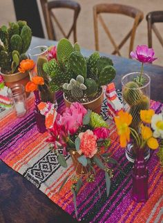 Add some authentic flair to your next fiesta with these woven Falsa style table runners. These runners are the perfect finishing touch for your table decor. Multiple runners can overlap for longer ban