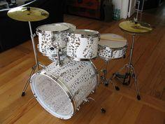 3D Printed Drum Set.  Seen on http://3DPrintBoard.com