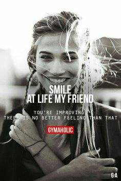 Always Smile..for your Improvement sake