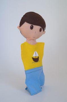 Boy doll - dolls, kids toys, cute dolls, toy dolls - by KinkinPuppets on Etsy