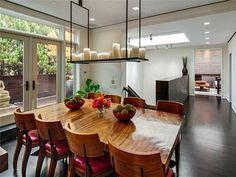 #KellyRipa's Soho Penthouse: Dining Room>> http://www.frontdoor.com/photos/step-inside-kelly-ripas-soho-penthouse?soc=pinterest