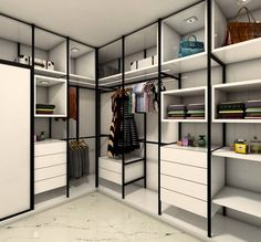 Wardrobe Room, Wardrobe Design Bedroom, Closet Bedroom, Bedroom Storage, Glass Wardrobe, Small Closet Space, Small Closets, Scandinavian Interior Bedroom, Interior Design Living Room