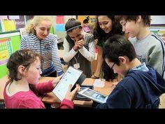 """""""Een Facebook voor kinderen."""" Zo noemt Lucie (12) uit het zesde leerjaar van het Sint-Pieterscollege in Jette de elektronische leeromgeving ..."""