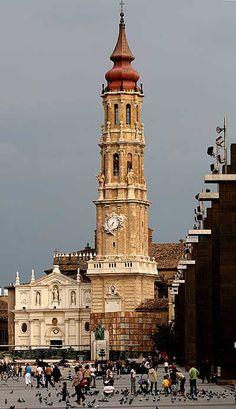 Torre de la Seo - Catedral del Salvador de Zaragoza (1704)