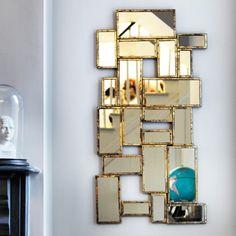 Cubist Mirror - Wall Mirrors - Mirrors - Lighting