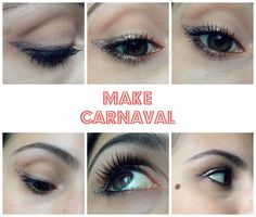 Tutorial Make Simples de Carnaval | New in Makeup